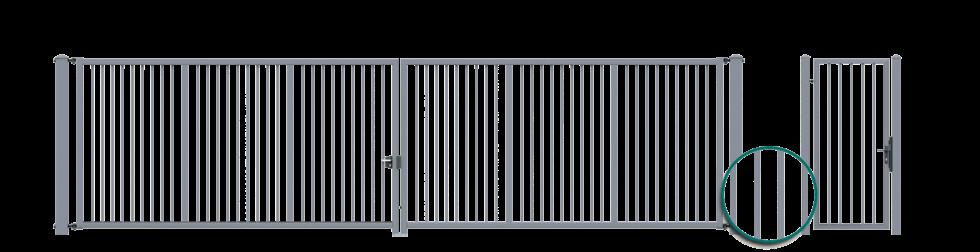 Bastion, mønster